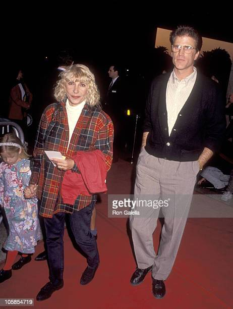 Ted Danson Casey Coates and Alexis Danson during Los Angeles Premiere of My Girl at Cineplex Odeon in Century City California United States