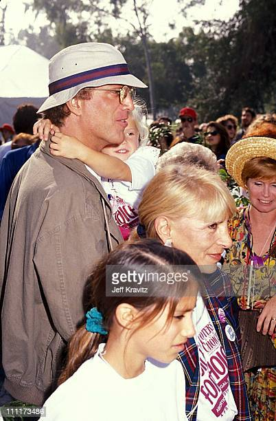 Ted Danson Casey Coates during Pro Choice Rally 1989 in Los Angeles California United States