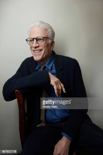 Ted Danson from the film 'Hearts Beat Loud' poses for a portrait at the YouTube x Getty Images Portrait Studio at 2018 Sundance Film Festival on...