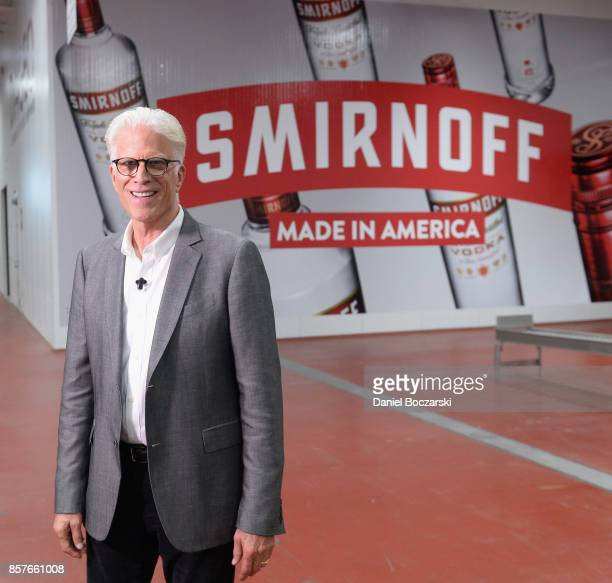 Ted Danson Heads To The Diageo Facility in Plainfield Illinois To meet the hardworking people behind SMIRNOFF AmericaÕs mostawarded Vodka on October 4