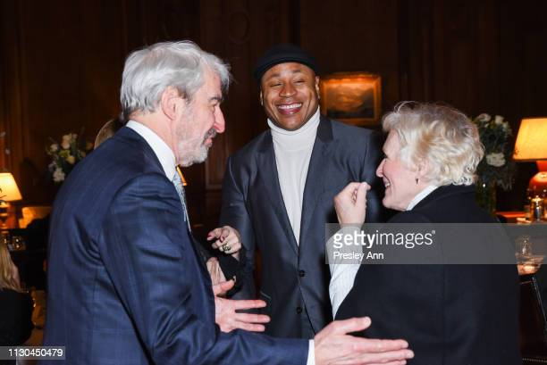 Ted Danson LL Cool J and Glenn Close attend Susan Rockefeller's Birthday Bash at The California Club on February 17 2019 in Los Angeles California