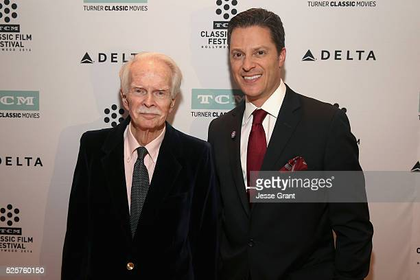 Ted Donaldson and Jeremy Arnold attend 'A Tree Grows in Brooklyn' during day 1 of the TCM Classic Film Festival 2016 on April 28, 2016 in Los...