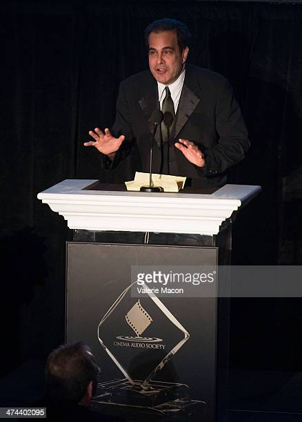 Ted Gagliano attends the 50th Annual CAS Awards From The Cinema Audio Society at Millennium Biltmore Hotel on February 22 2014 in Los Angeles...