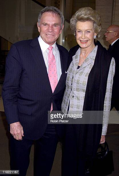 Ted Hartley and Dina Merrill during The Film Society of Lincoln Center Honors Dustin Hoffman at Lincoln Center's Avery Fisher Hall in New York City,...