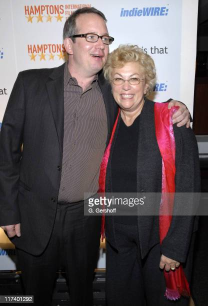 Ted Hope and Denise Kasell, executive director, Hamptons International Film Festival