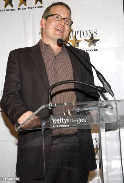 Ted Hope during 14th Annual Hamptons International Film Festival - Industry Toast to Ted Hope at East Hampton Point in East Hampton, New York, United...