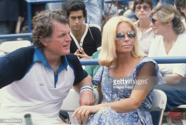 Ted Kennedy and Joan Kennedy circa 1979 in Forest Hills Queens
