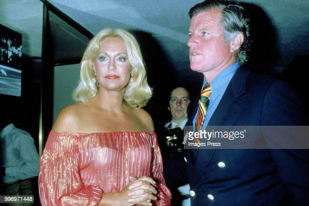 Ted Kennedy and wife Joan Kennedy circa 1979 in New York City