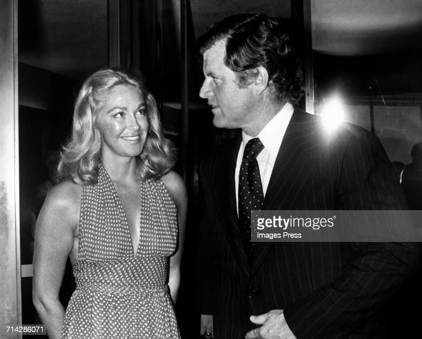 Ted Kennedy and wife Joan Kennedy circa 1980 in New York City