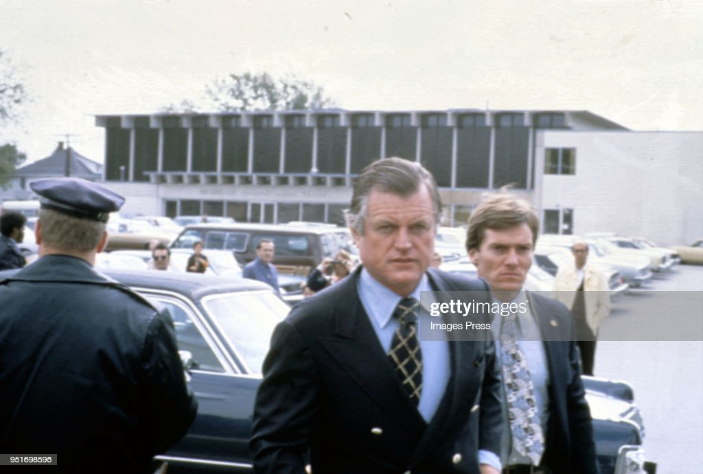 Ted Kennedy circa 1981 in New York City.
