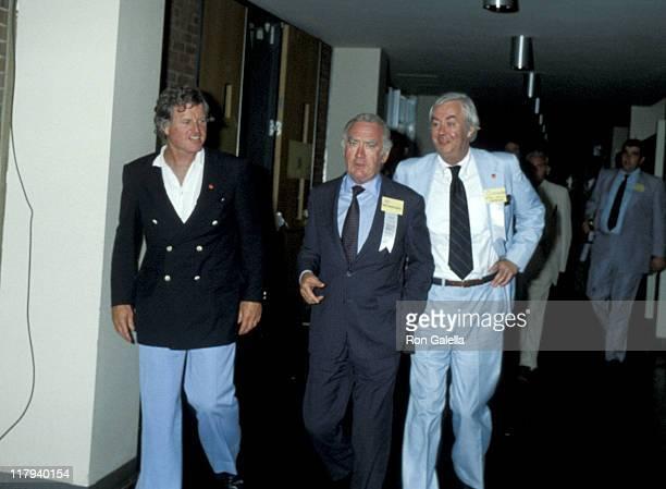 Ted Kennedy Hugh Carey and Daniel Patrick Moynihan