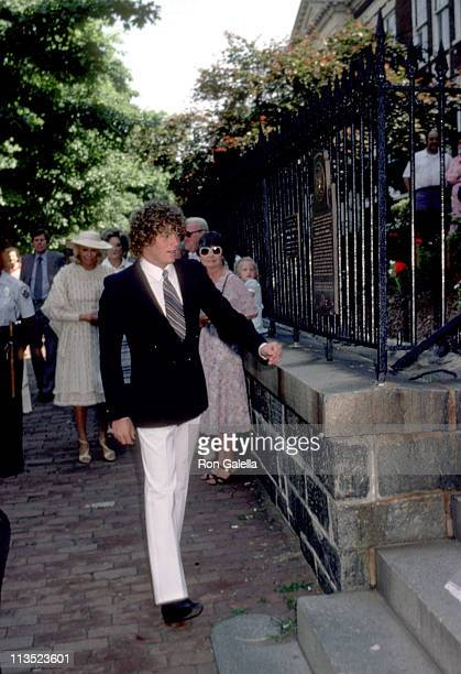 Ted Kennedy Jr during Courtney Kennedy and Jeff Ruhe Wedding at Holy Trinity Church in Washington DC United States