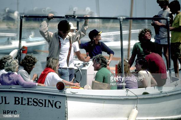 Ted Kennedy Susan Saint James and the Kennedy family