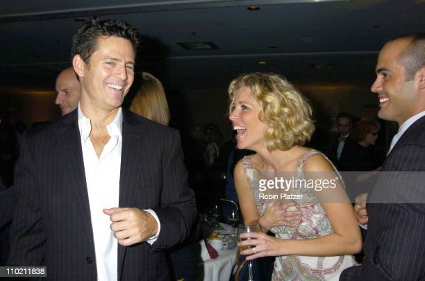 Ted King Laura Wright and Stephen Martines during 10th Annual Daytime Television Gala Benefiting St Jude Children's Research Hospital at Marriott...