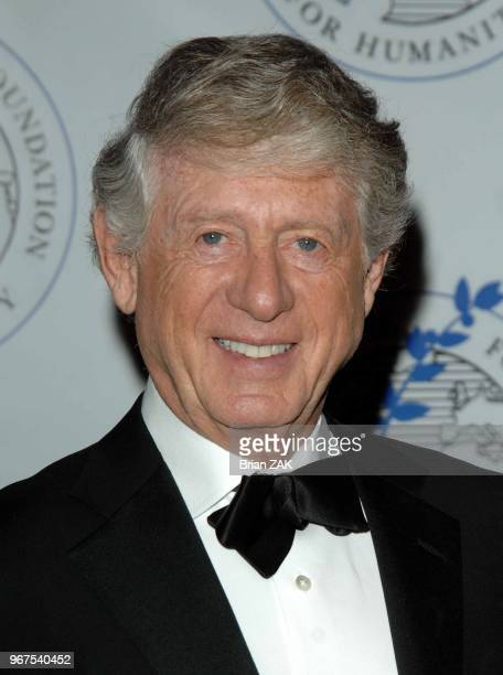 Ted Koppel attends The Elie Wiesel Foundation for Humanity Award Dinner at the WaldorfAstoria New York City BRIAN ZAK