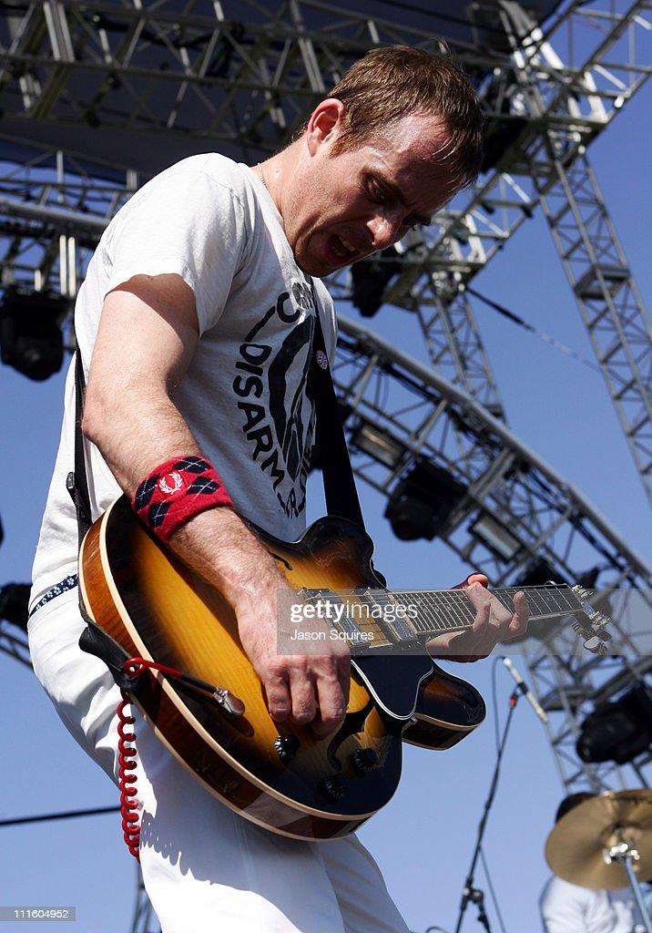 Ted Leo / Pharmacists during 2006 Coachella Valley Music and Arts Festival - Day Two at Empire Polo Fields in Indio, California, United States.