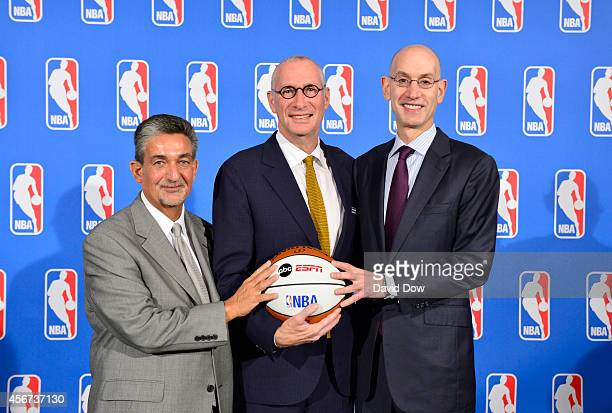 Ted Leonsis owner of the Washington Wizards John Skipper ESPN President and Disney Media Networks CoChairman and Adam Silver NBA Commissioner...