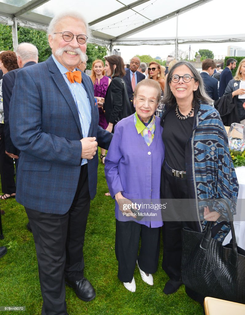 Ted Liebman, Angie Cabrera and Nina Liebman attend the Franklin D. Roosevelt Four Freedoms Park's gala honoring Founder Ambassador William J. Vanden Heuvel at Franklin D. Roosevelt Four Freedoms Park on June 13, 2018 in New York City.