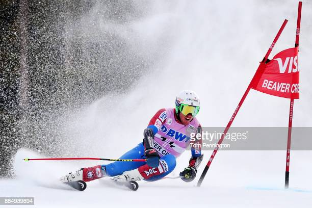 Ted Ligety of the United States competes in the Audi Birds of Prey World Cup Men's Giant Slalom on December 3 2017 in Beaver Creek Colorado