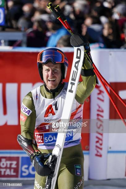 Ted Ligety of Unitet States of America in the second run of the Audi FIS Alpine Ski World Cup - Men's Giant Slalom at Rettenbachferner on October 27,...