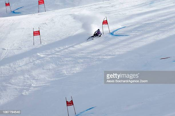 Ted Ligety of USA competes during the Audi FIS Alpine Ski World Cup Men's Giant Slalom on December 2 2018 in Beaver Creek USA