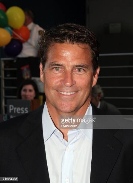 Ted McGinley attend the opening night party for Curtains at the Ahmanson Theatre August 9 2006 in Los Angeles California The play stars David Hyde...