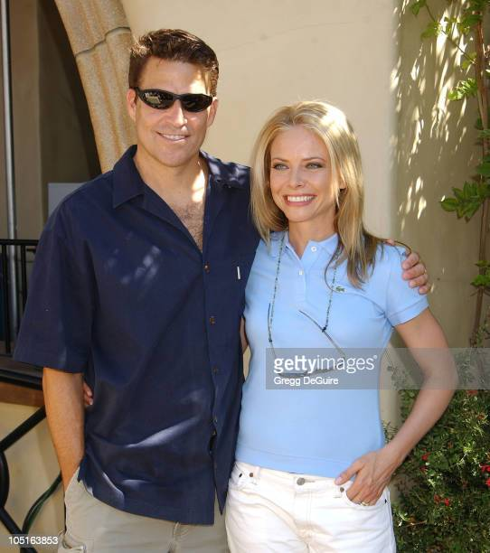 Ted McGinley Faith Ford of 'Hope Faith' during ABC Primetime Preview Weekend at Disney's California Adventure in Anaheim California United States