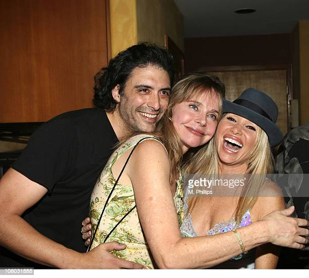 Ted Monte Priscilla Branes and EG Daily during Last Chance for Animals Fundraiser at Private in Beverly Hills CA United States