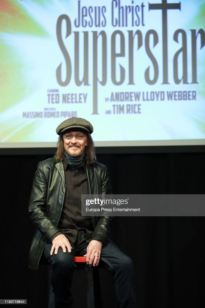 ESP: Ted Neeley Attends 'Jesus Christ Superstar' In Madrid