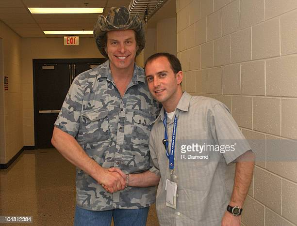 Ted Nugent and Jerry Goldman of The Arena at Gwinnett Center