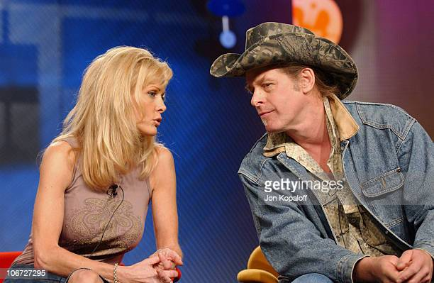 Ted Nugent and wife Shemane Nugent discussing VH1's Surviving Nugent