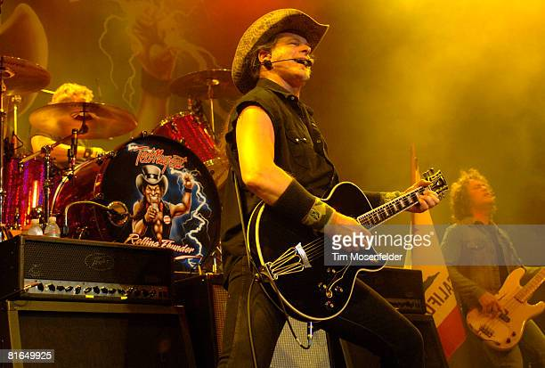 Ted Nugent performs part of his Rolling Thinder 08 tour at The Fillmore June 19 2008 in San Francisco California