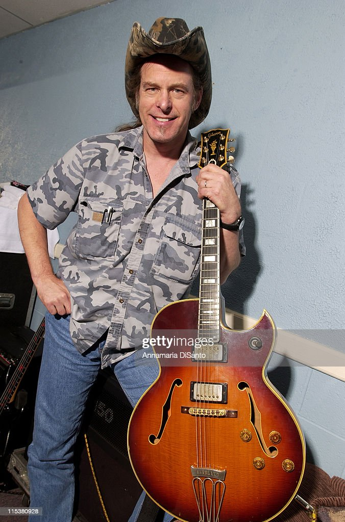 Ted Nugent Photo Session