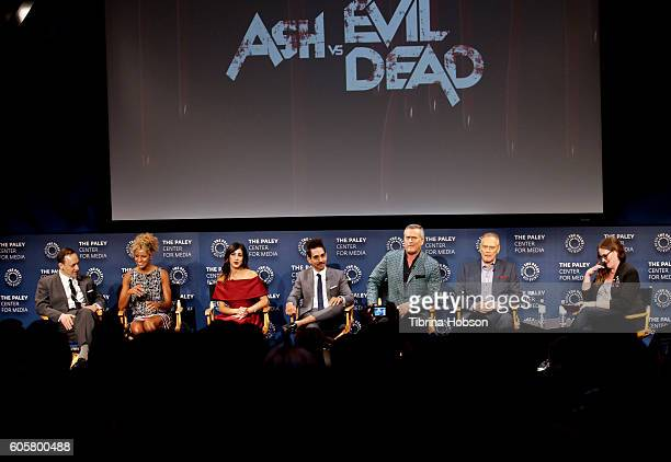 Ted Raimi Michelle Hurd Dana DeLorenzo Ray Santiago Bruce Campbell and Lee Majors attend The Paley Center for Media PaleyFest 2016 fall TV preview...