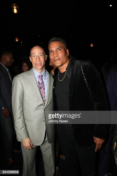 Ted Reid and Paxton Baker attend the Annual PreGrammy Reception hosted by Ted Reid at STK on February 9 2017 in Los Angeles California