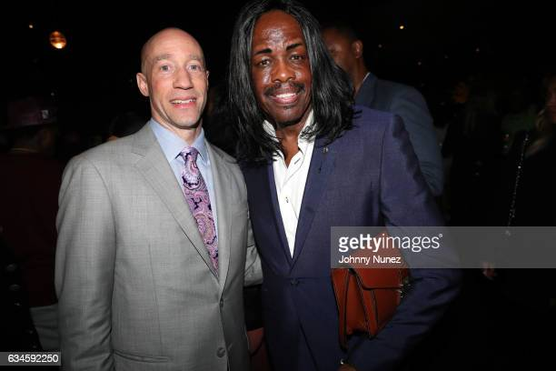 Ted Reid and Verdine White attend the Annual PreGrammy Reception hosted by Ted Reid at STK on February 9 2017 in Los Angeles California
