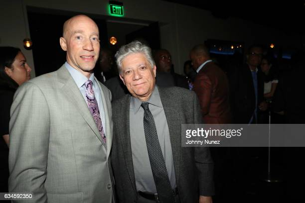 Ted Reid and Vincent Cirrincione attend the Annual PreGrammy Reception hosted by Ted Reid at STK on February 9 2017 in Los Angeles California