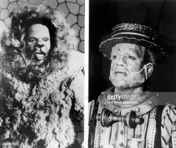 Ted Ross as the Lion and Nipsey Russell as the Tinman in The Wiz 1978 The film also featured Diana Ross as Dorothy and Michael Jackson as the...