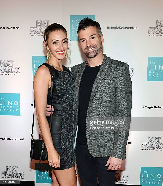 Ted Russell arrives at the grand opening of MAT FRANCO MAGIC REINVENTED NIGHTLY at The LINQ Hotel Casino at The LINQ on August 21 2015 in Las Vegas...