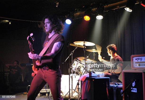 Ted Russell Kamp and Bryan Keeling during Shooter Jennings in Concert at The Loft in Atlanta - November 3, 2005 at The Loft in Atlanta, Georgia,...
