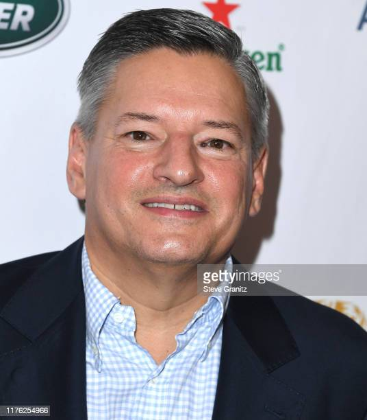 Ted Sarandos arrives at the BAFTA Los Angeles BBC America TV Tea Party 2019 at The Beverly Hilton Hotel on September 21 2019 in Beverly Hills...