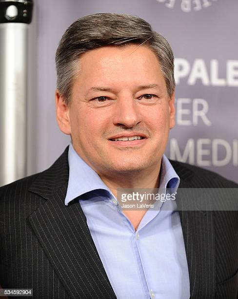 Ted Sarandos attends an evening with 'Orange Is The New Black' at The Paley Center for Media on May 26 2016 in Beverly Hills California