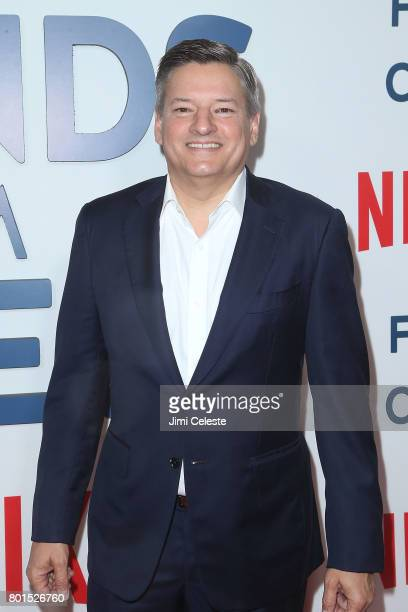 Ted Sarandos attends the 'Friends From College' New York Premiere at AMC 34th Street on June 26 2017 in New York City