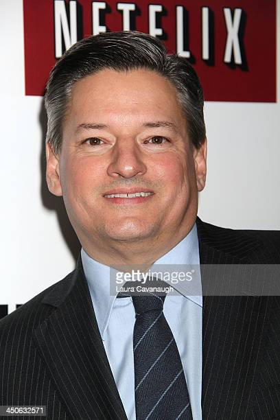 Ted Sarandos attends the Lilyhammer season 2 premiere at NYIT Auditorium on November 19 2013 in New York City