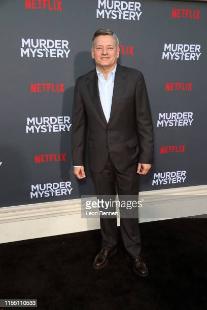 Ted Sarandos attends the LA premiere of Netflix's Murder Mystery at Regency Village Theatre on June 10 2019 in Westwood California