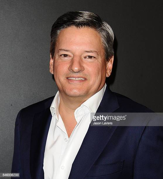 Ted Sarandos attends the premiere of 'Stranger Things' at Mack Sennett Studios on July 11 2016 in Los Angeles California