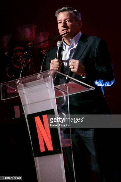 Ted Sarandos attends the red carpet of 'La Casa De Papel' 3rd Season by Netflix on July 11 2019 in Madrid Spain