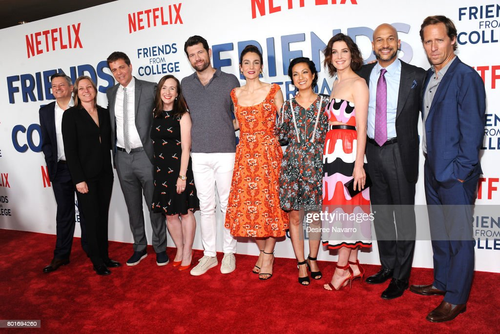 """Friends From College"" New York Premiere"