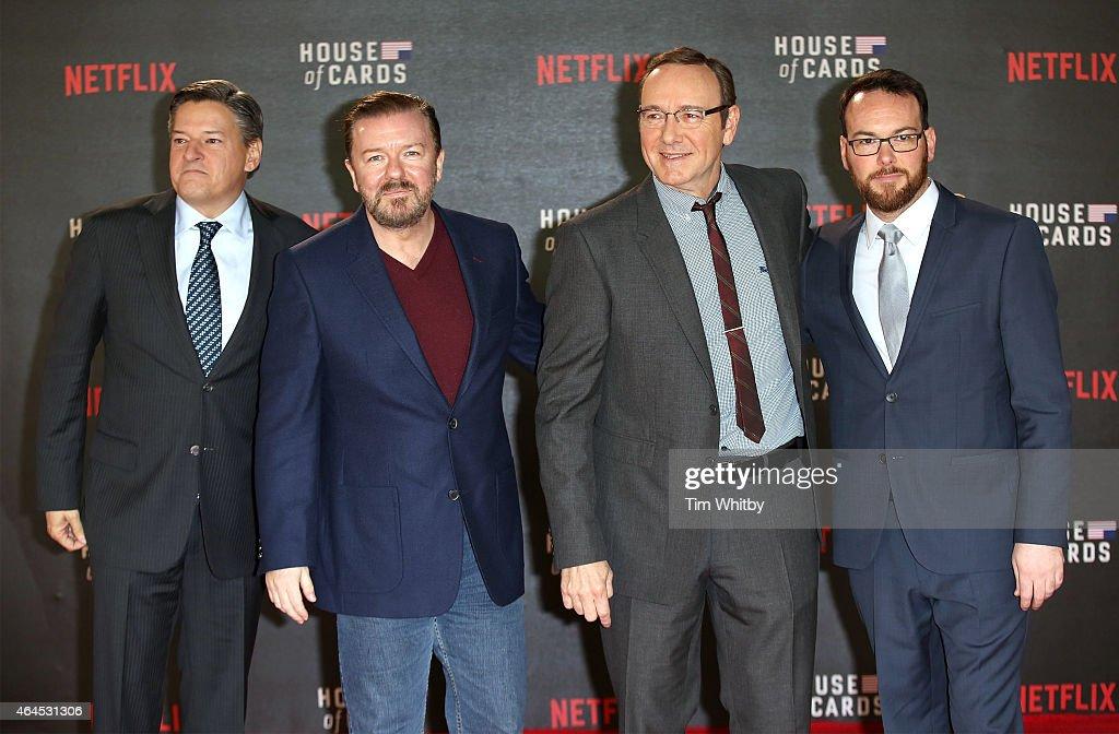 """""""House Of Cards"""" Season 3 - World Premiere - Red Carpet Arrivals : Nachrichtenfoto"""
