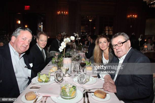 Ted Shugrue Steven Shift Milos Forman and Martina Forman attend GLORIA STEINEM and MORT ZUCKERMAN hosts a lunch with KATE WINSLET in celebration THE...